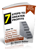 eBook image - 7 Steps to Greater Profits
